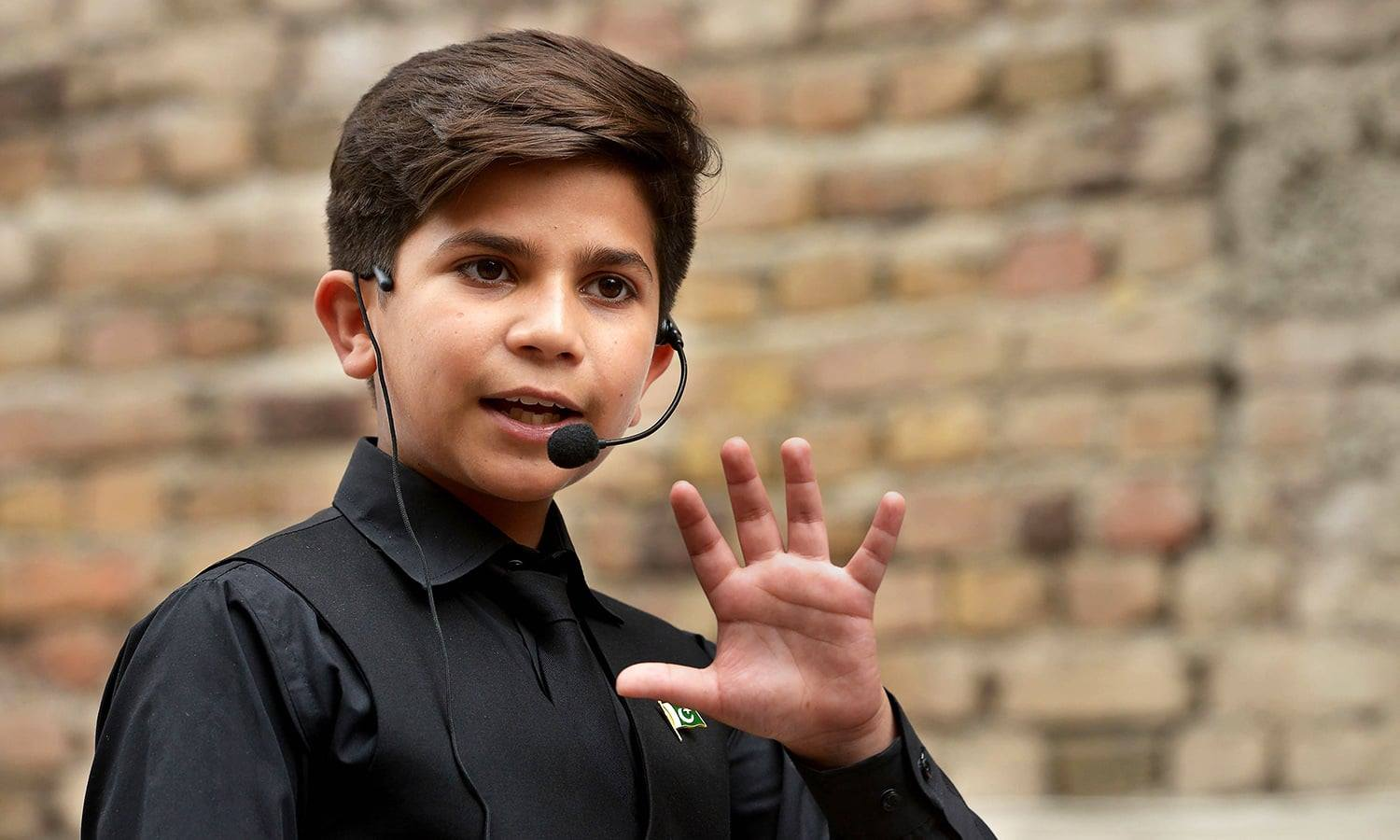 Meet Hammad Safi, the 11-year-old motivational coach who has Pakistan enchanted