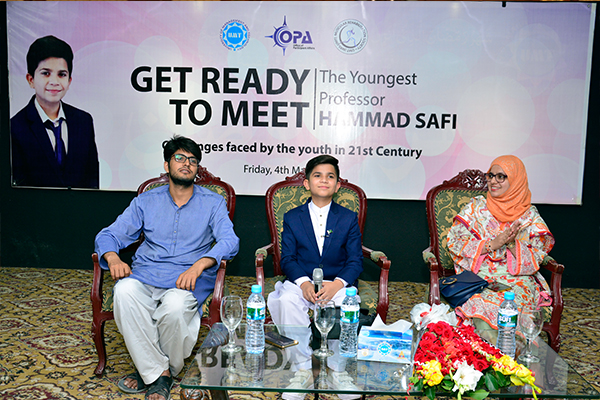 Youngest Professor Hammad Safi Talks about Challenges Faced by Youth of 21st Century