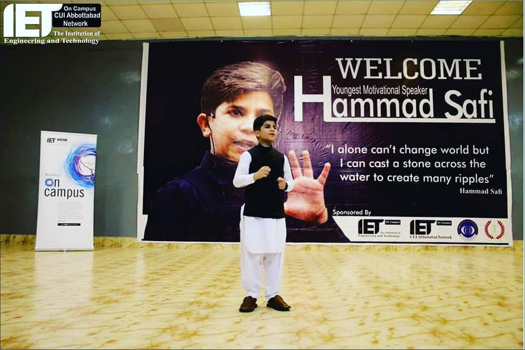Who is Hammad Safi? 11-year-old motivational speaker from Pakistan …